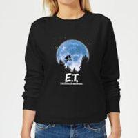 ET Moon Silhouette Women's Sweatshirt - Black - L - Black