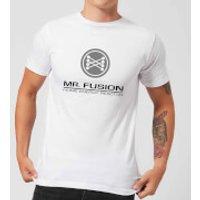 Back To The Future Mr Fusion T-Shirt - White - L - White