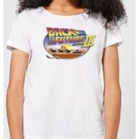 Back To The Future Lasso Women's T-Shirt - White - S - White