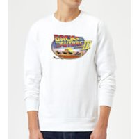 Back To The Future Lasso Sweatshirt - White - XL - White