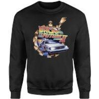 Back To The Future Clockwork Sweatshirt - Black - L - Black