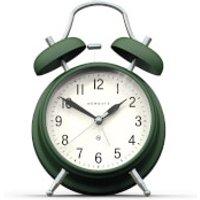 Newgate Brick Lane Silent Alarm Clock - Green