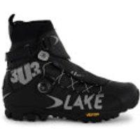 Lake MXZ303 Wide Fit Winter MTB Boots - Black - EU 42/UK 8 - Black