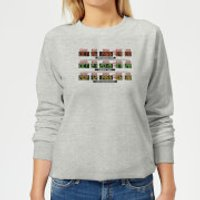 Back To The Future Destination Clock Women's Sweatshirt - Grey - XXL - Grey - Clock Gifts