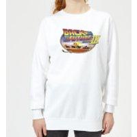 Back To The Future Lasso Women's Sweatshirt - White - M - White