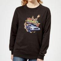 Back To The Future Clockwork Women's Sweatshirt - Black - S - Black