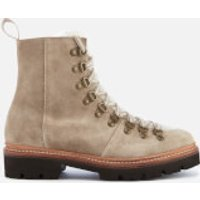 Grenson Women's Nanette Suede Hiking Style Boots - Maple - UK 3 - Beige