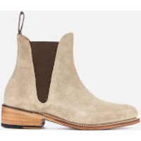 Grenson Women's Nora Suede Chelsea Boots - Maple - UK 3 - Beige