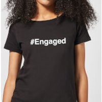 Engaged Women's T-Shirt - Black - XL - Black