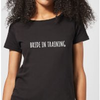 Bride In Training Women's T-Shirt - Black - XXL - Black