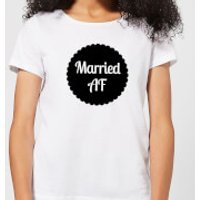 Married AF Women's T-Shirt - White - 5XL - White