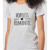Hopeless Romantic Women's T-Shirt - Grey - XXL - Grey - Romantic Gifts