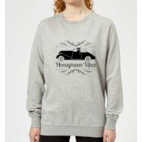 Honeymoon Vibes Women's Sweatshirt - Grey - M - Grey