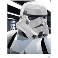 Star Wars The Original Stormtrooper Battle Station Trooper Print - Stormtrooper Gifts