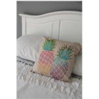 Black Ginger Pineapple Cushion - Ginger Gifts