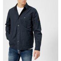 Barbour International Men's Camber Overshirt - Navy - L - Navy