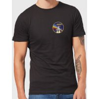 NASA Vintage Rainbow Shuttle T-Shirt - Black - S - Black