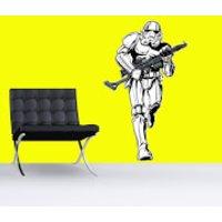 Star Wars Stormtrooper Lifesize Wall Sticker