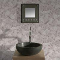 Contour Taupe Travertino Tiled Bathroom/Kitchen Wallpaper