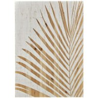 Art for the Home Palm Leaf Wood Panel - Home Gifts