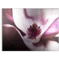 Art for the Home Metallic Plum Petals Printed Canvas - Home Gifts