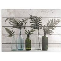 Art for the Home Botanical Bottles Print on Wood - Home Gifts
