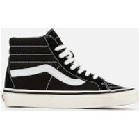 Vans Anaheim Sk8-Hi 38 Dx Hi-Top Trainers - Black/True White - UK 5