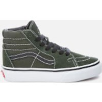 Vans Kids Sk8Hi Trainers  Duffle BagBlack  UK 2 Kids  Green