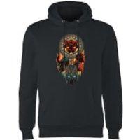 Black Panther Totem Hoodie - Black - S - Black