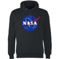 NASA Logo Insignia Hoodie - Black - XL - Black