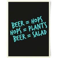 Beer Salad Art Print