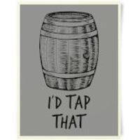Beershield I'd Tap That Art Print