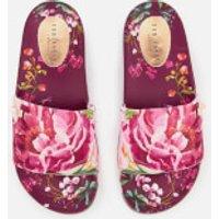309660467 Ted Baker Women s Qarla Slide Sandals - Serenity Print - UK 5 - Pink ...
