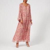 Zimmermann Women's Castile Flared Sleeve Dress - Filigree Stripe - 1/UK 10 - Multi