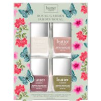 butter LONDON Royal Garden Gift Set (Worth 32.73)