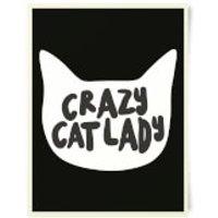 Crazy Cat Lady Art Print - Crazy Gifts