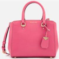 MICHAEL MICHAEL KORS Womens Benning Medium Messenger - Rose Pink