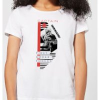 Star Wars Captain Phasma Women's T-Shirt - White - L - White