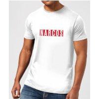 Narcos Logo T-Shirt - White - 3XL - White
