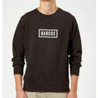 Narcos Box Logo Black Sweatshirt - Black - L - Black