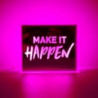 Mini LED Acrylic Box - Pink - Box Gifts