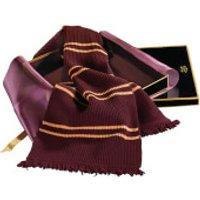 Harry Potter Lambs Wool Gryffindor Scarf in Madam Malkin's Box - Gryffindor Gifts
