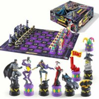 DC Comics The Dark Knight Batman Chess Set - Chess Gifts