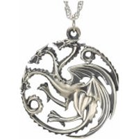 Game of Thrones House Targaryen Sterling Silver Pendant - Game Gifts