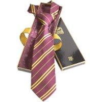 Harry Potter 100% Silk Gryffindor Necktie in Madam Malkin's Box - Gryffindor Gifts