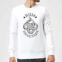 Rum Knuckles Eternal Snake Sweatshirt - White - 5XL - White - Snake Gifts