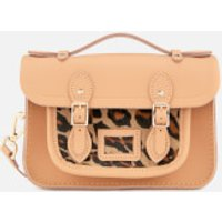 The Cambridge Satchel Company Womens The Mini Satchel - Honey Matte/Leopard