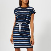 Barbour Women's Marloes Dress - Navy/Blue/White - UK 8 - Navy/Blue/White