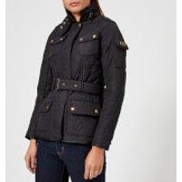 Barbour International Womens Tourer Polarquilt Jacket - Navy - UK 10