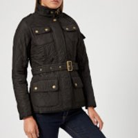 Barbour International Womens Polarquilt Jacket - Black - UK 14